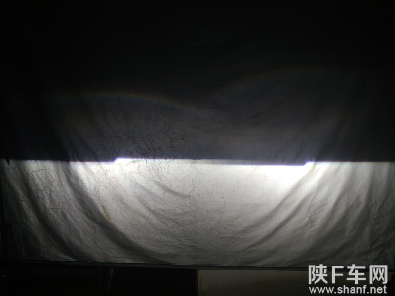 汉中改灯,铃木天语卤素车灯改装Q5双光透镜,加装氙气灯天使眼