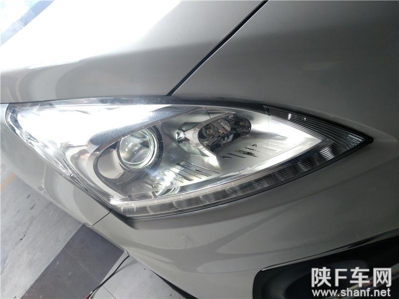 汉中改灯,标致3008大灯升级Q5双光透镜,改装飞利浦氙气灯