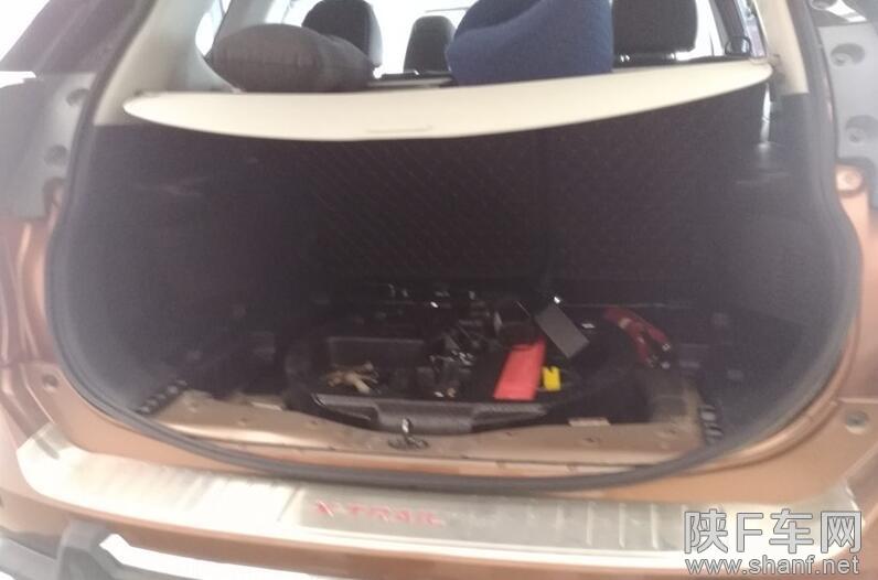 汉中电动尾门升级,汉中汽车改装智能电动尾门,奇骏改电尾门案例