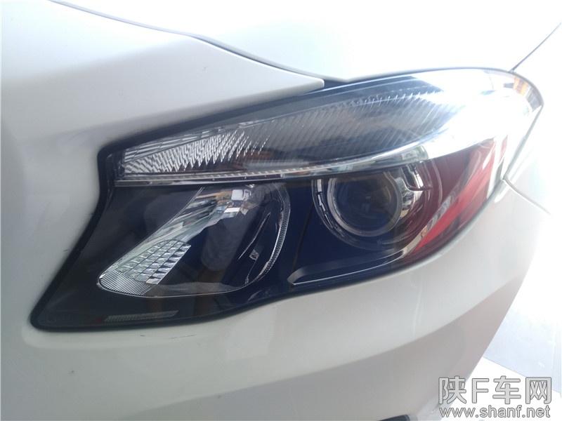 汉中改灯,汉中奔驰车灯改装Q5透镜,加装氙气灯