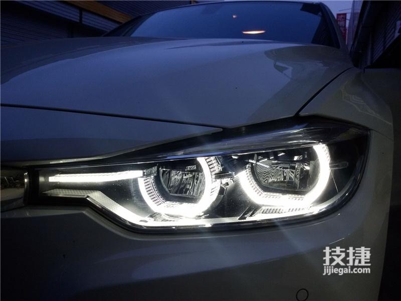 汉中宝马改装,3系宝马车灯升级改装原厂LED大灯总成