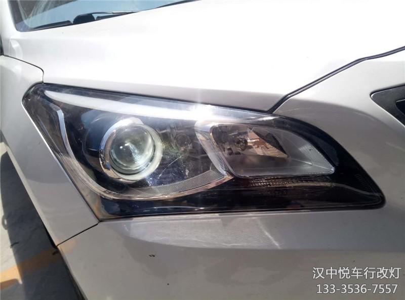 汉中改灯 汉中名图改装车灯锐倍德透镜升级氙气灯