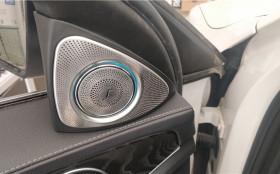 汉中奔驰改装,奔驰C200L升级改装柏林之声高音旋转